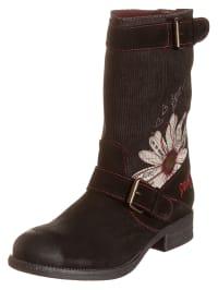 """Desigual Boots """"Vanessa"""" in Schwarz"""