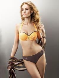 "Aquarilla Bikini ""Lyon"" in Orange/ Braun"