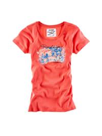 Roadsign Shirt in Koralle