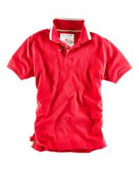 Roadsign Poloshirt in Rot