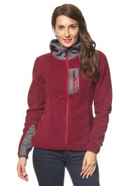 "Alpine Pro Fleecejacke ""Arsenio"" in Rot"