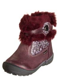 Primigi Leder-Stiefel in lila/ rot
