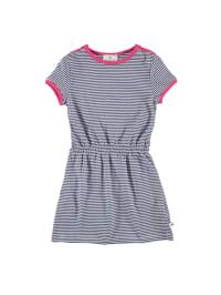 Bellybutton Kleid in Blau/ Weiß/ Pink