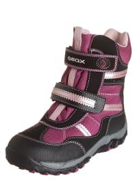 """Geox Winterboots """"Alaska"""" in pink/ schwarz"""