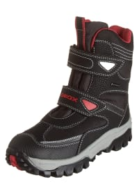 "Geox Winterboots ""Himalaya"" in schwarz/ rot"