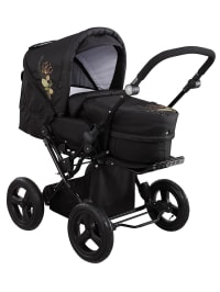 "Knorr-baby Kombi-Kinderwagen ""Nizza Air"" in Schwarz"