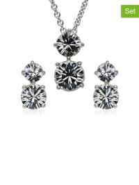 Saint Francis Crystals Schmuckset mit Swarovski-Kristallen