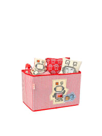 "Käthe Kruse Spielzeugbox ""Uxu"" in Rot - (B)37 x (H)25 x (T)25 cm"