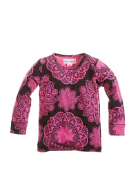 Phister & Philina Longsleeve in Schwarz/ Pink