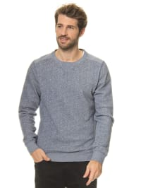 "DOCKERS Sweatshirt ""Jaspe Terry"" in Blau"