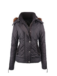 MyMo Steppjacke in Grau