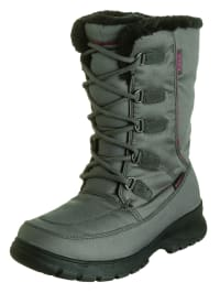 "Kamik Winterstiefel ""Brooklyn"" in Grau/ Pink"