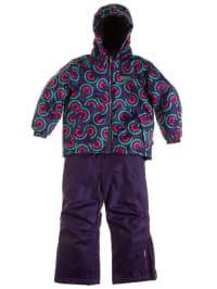 "Color Kids Skioutfit ""Glasgow"": Skijacke und Skihose in Lila"