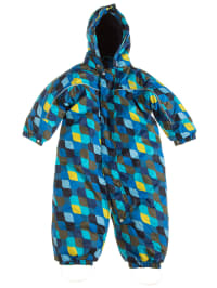 "Color Kids Schneeanzug ""Karno"" in Blau/ Bunt"