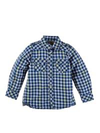 Kanz Hemd in Blau/ Weiß/ Gelb