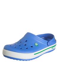 "Crocs Clogs ""Crocband II.5"" in Blau/ Weiß"