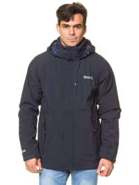 "Regatta 3-in-1 Funktionsjacke ""Northfield"" in Dunkelblau"