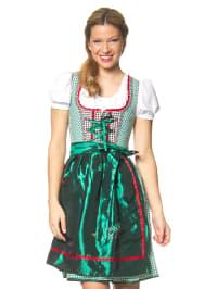 """Stockerpoint Mini-Dirndl """"Jenna"""" in Grün/ Weiß/ Rot"""