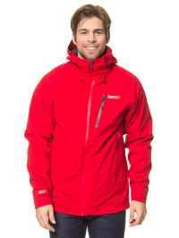 "Regatta 3in1-Funktionsjacke ""Carrington"" in Rot/ Anthrazit"