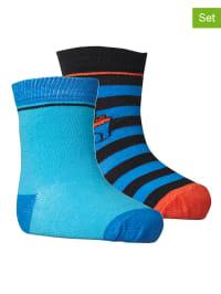 """Legowear 2er-Set: Socken """"Aske 701""""  in Blau/ Hellblau"""