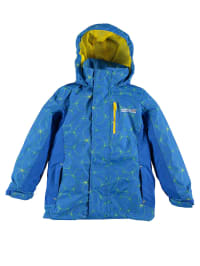 "Regatta 3in1-Funktionsjacke ""Moonflare"" in Blau/ Gelb"