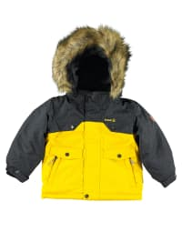 "Kamik Winterjacke ""Skipp Color"" in Gelb/ Anthrazit"