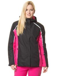 "Raiski Ski-/Snowboardjacke ""Salix"" in Schwarz/ Pink"