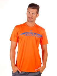 Adidas Shirt in Orange/ Blau