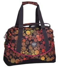 """Chiemsee Henkeltasche """"Ladies Handbag"""" in Rot/ Orange - (B)44 x (H)32 x (T)18 cm"""