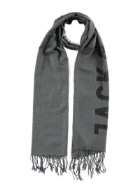 Jack & Jones Viskose-Schal in Grau - (B)65 x (L)200 cm