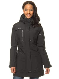 First B Outdoorjacke in Schwarz