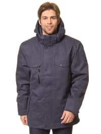 First B Outdoorjacke in Dunkelblau