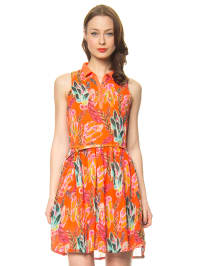 "Smash Kleid ""Sorocaba"" in Orange/ Bunt"