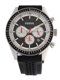 "Fossil Chronograph ""Asher"" in Schwarz/ Silber"