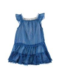 TroiZenfants Kleid in Blau/ Weiß
