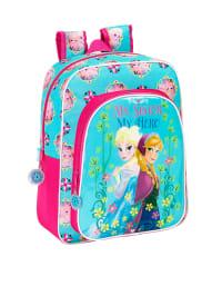 Disney Rucksack in Türkis/ Pink - (B)32 x (H)38 x (T)12 cm
