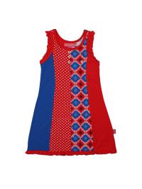 Dutch Bakery Kleid in Rot/ Blau
