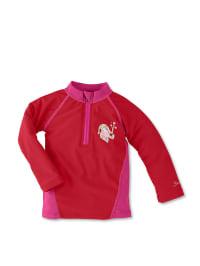 Sterntaler Schwimmshirt in Rot/ Pink