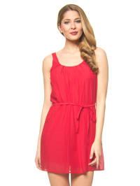 Lavand Kleid in Rot