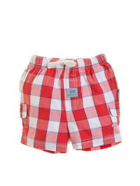 Gelati Shorts in Rot/ Weiß