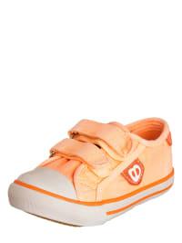 Billowy Sneakers in Neonorange