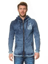 "One Green Elephant Sweatjacke ""Vardo"" in Blau/ Hellblau"