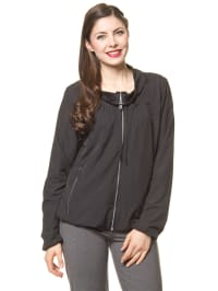 Reebok Trainingsjacke in Schwarz