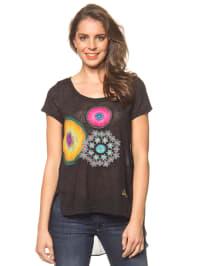 """Desigual Shirt """"Sonora"""" in Schwarz/ Bunt"""