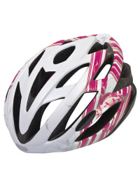 "ABUS Fahrradhelm ""S-Force Road"" in Weiß/ Pink"