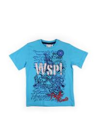 What´s up Kids Shirt in Hellblau/ Bunt