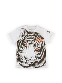 What´s up Kids Shirt in Weiß/ Bunt