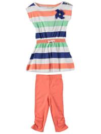 Emoi 2tlg. Outfit in Bunt/ Orange