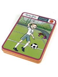 """Mudpuppy Magnetisches Spielzeug """"Sporty Girls"""" - ab 5 Jahren"""