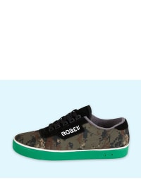 Robey Sneakers in Khaki/ Schwarz
